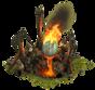 Brennendes Ei