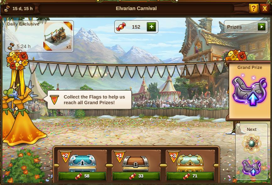 Karneval Event 2021 Event Fenster: Bild vom Beta-Server