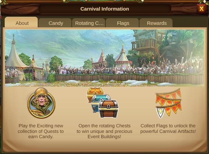 Karneval Event 2021 Event info Screenshot Tab 1