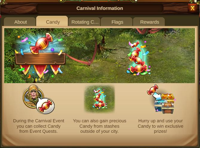 Karneval Event 2021 Event info Screenshot Tab 2