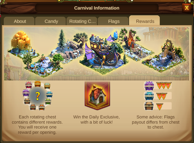 Karneval Event 2021 Event info Screenshot Tab 5