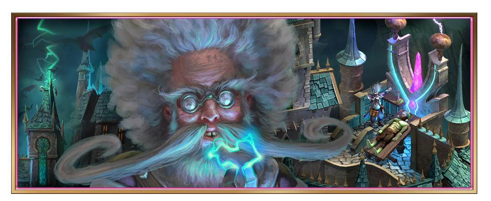 Dr. Freakenspleen Event: Hintergrund-Bild vom Beta-Server