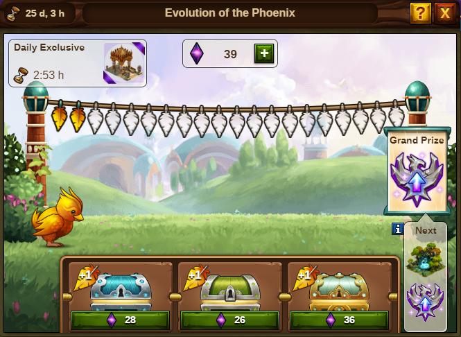 Entwicklung des Phönix Event: Bild vom Beta-Server