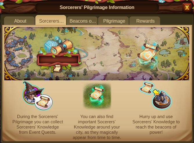 Die Pilgerreise der Zauberer 2020 Event info Screenshot Tab 2