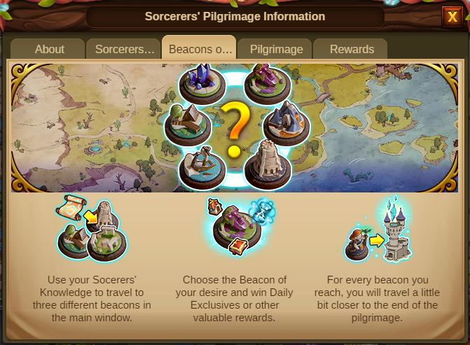 Die Pilgerreise der Zauberer 2020 Event info Screenshot Tab 3