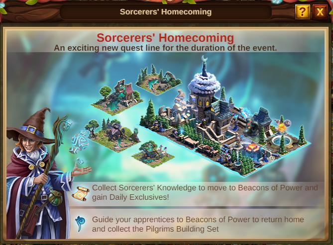 Die Heimkehr der Zauberer Event 2021 Event Intro: Bild vom Beta-Server