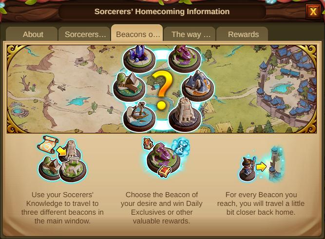 Die Heimkehr der Zauberer 2021 Event Info Tab 3