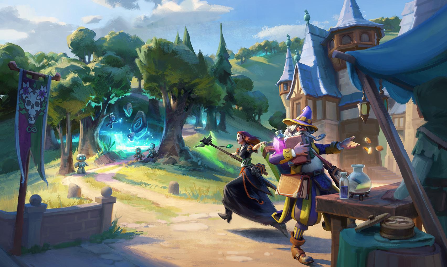 Die Heimkehr der Zauberer Event 2021 Event Hintergrundbild