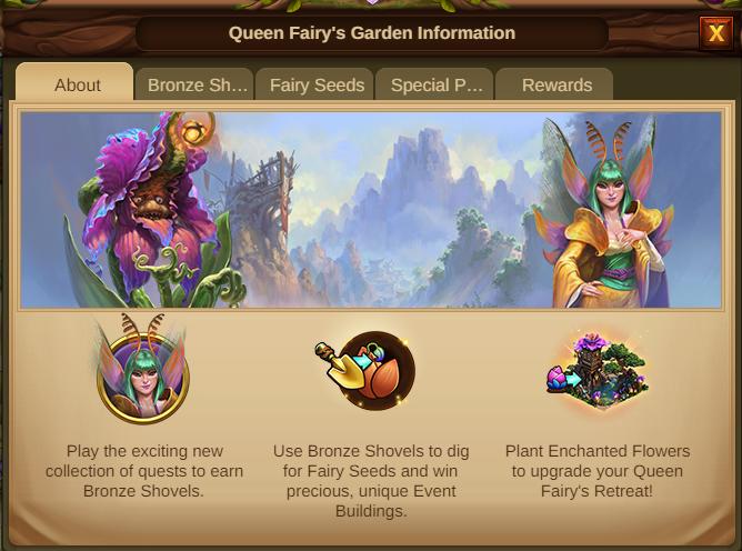 Garten der Feenkönigin 2021 Event Info Tab 1