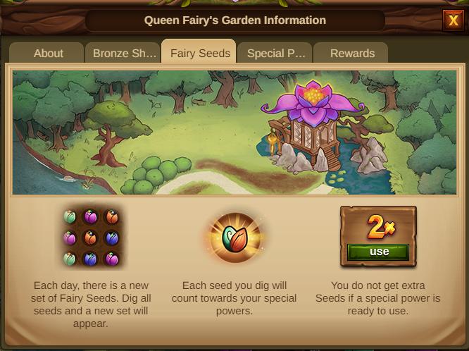 Garten der Feenkönigin 2021 Event Info Tab 3