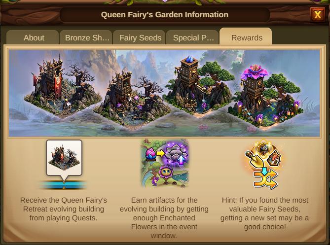 Garten der Feenkönigin 2021 Event Info Tab 5